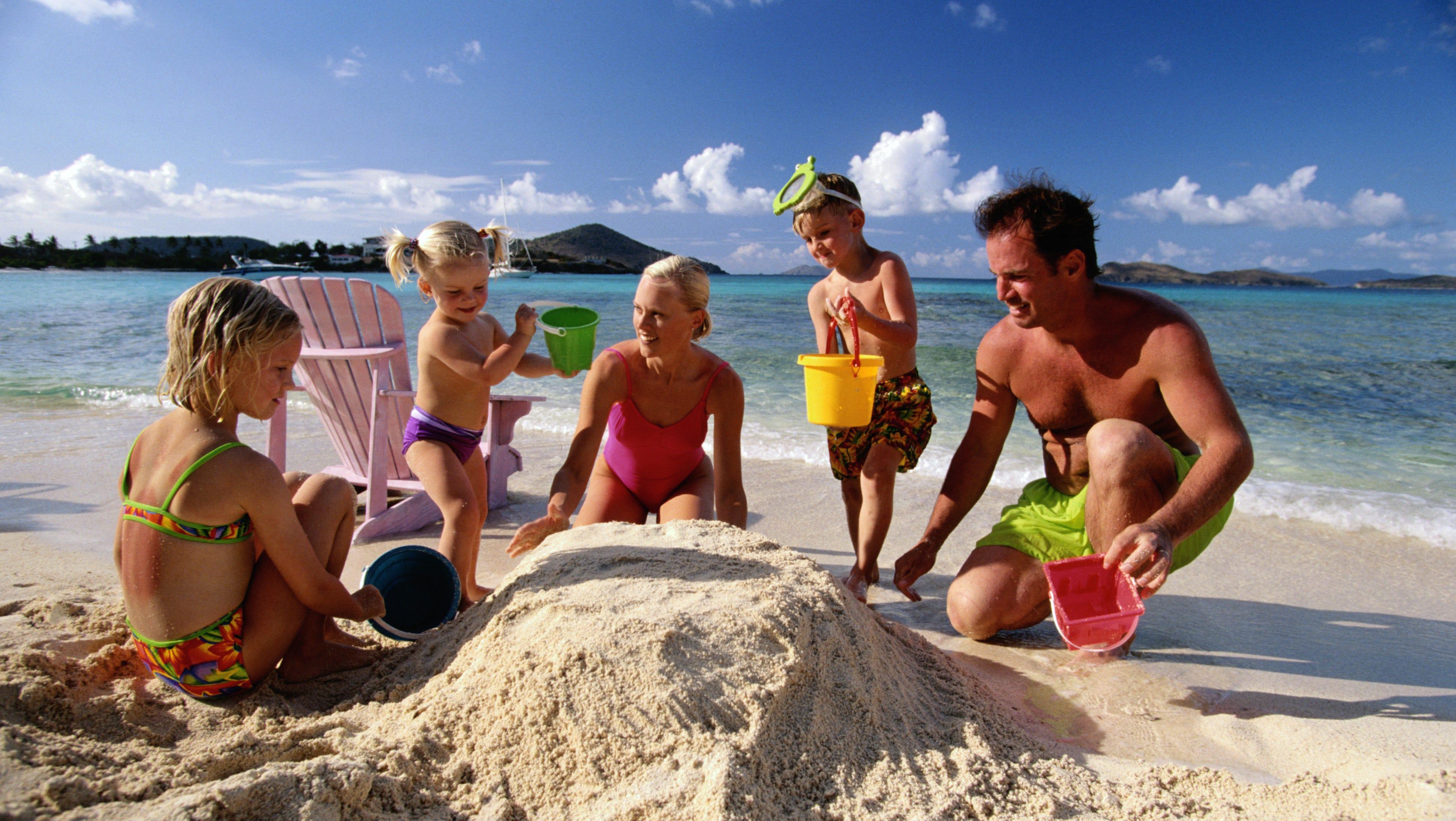 Семейное на пляже 6 фотография