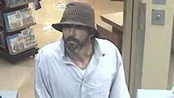 The FBI Phoenix field office is seeking help from the public in identifying a man in a fedora-style hat who robbed a Chase bank in Phoenix Tuesday.