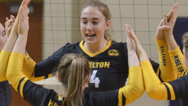 AJ Ediger and the Hamilton volleyball team will be back in action as scheduled this fall.