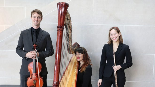 Trio Alexander will perform two concerts in the region on Friday and Saturday.