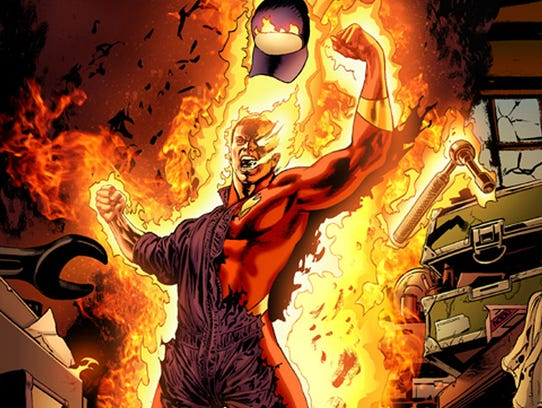 Human Torch page
