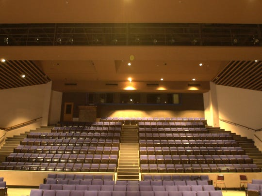 Ken Collins Theater at McNary High School in Keizer, Ore. Pictured Friday October 25, 2002.