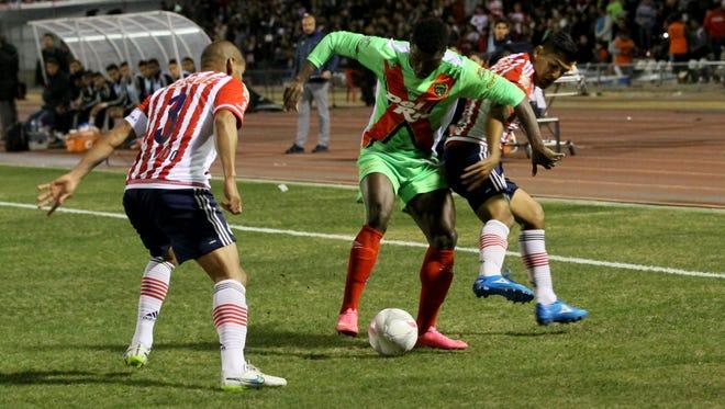 The FC Juárez Bravos beat the Guadalajara Chivas 1-0 on Wednesday at Benito Juárez Olympic Stadium in Juárez. See more photos at elpasotimes.com.
