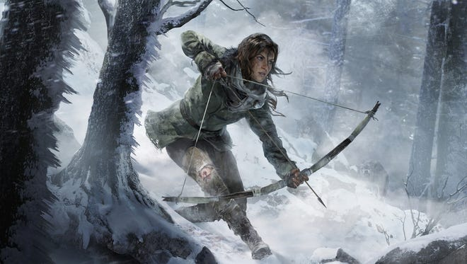 "Lara Croft returns in ""Rise of the Tomb Raider,"" the sequel to the 2013 reboot of the long-running action/adventure series."