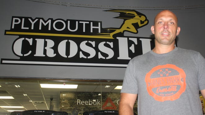 Plymouth resident Jason Swafford is a part owner and coach at four area CrossFit facilities.