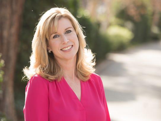 Democrat Christy Smith, of Santa Clarita, is running