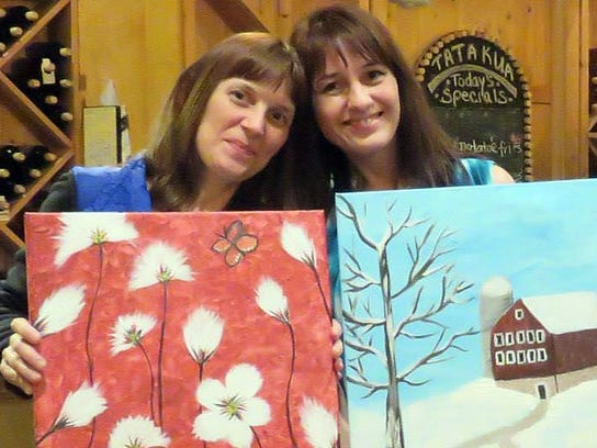 """After leaving her husband, Laurie Kuykendall Kepner, left, spent time with sister Karen Kuykendall Nordsick and learned to """"spread her wings,"""" according to Nordsick. """"We had so many plans, so many things we were going to do together,"""" she said."""
