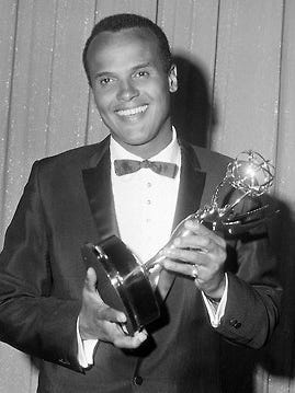 Harry Belafonte, who had already won a Tony Award on Broadway, became the first African American to win an Emmy on June 20, 1960.