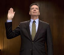 James Comey agreed to testify before the Senate In...