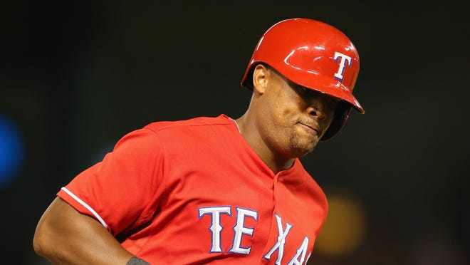 Adrian Beltre homered at home for the first time in more than a month.