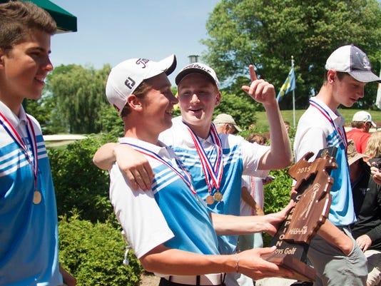 Lansing Catholic wins Div. 3 Golf State Championship