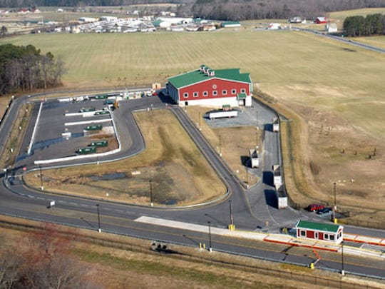 The Route 5 transfer station in Harbeson.