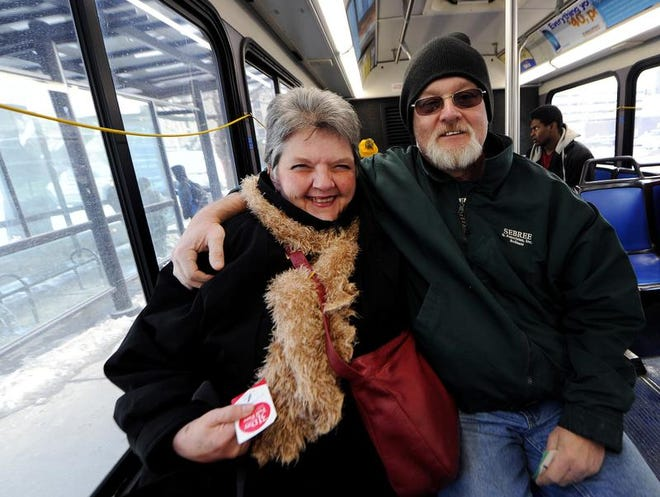 Rita and Phillip Wiley met riding IndyGo.