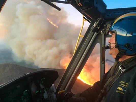 Ventura, Calif. fire