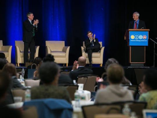 Governor John Carney joins educators, legislators,