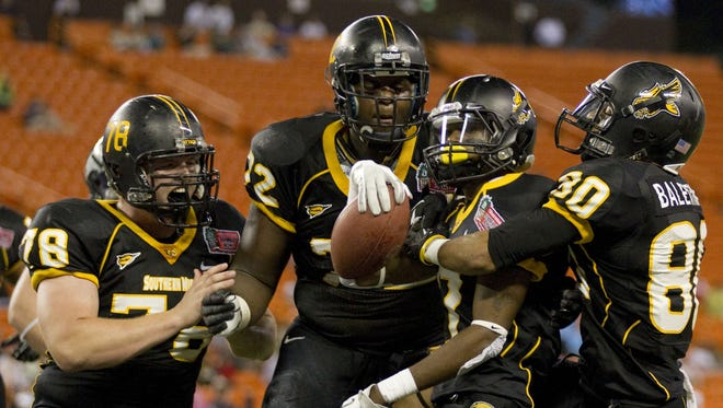 Southern Miss defeated Nevada at the Hawaii Bowl in 2011.