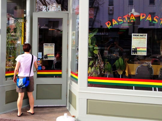 Rasta Pasta lost its lease at 200 Walnut St. in Old