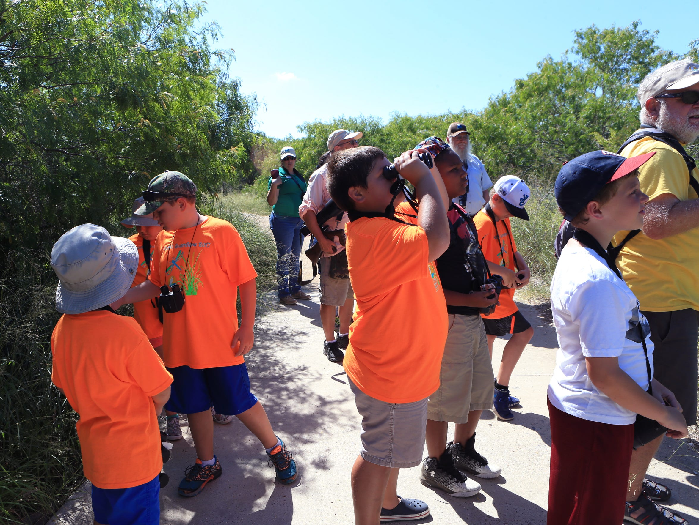 Nature campers participating in the O.S.O. Guardians