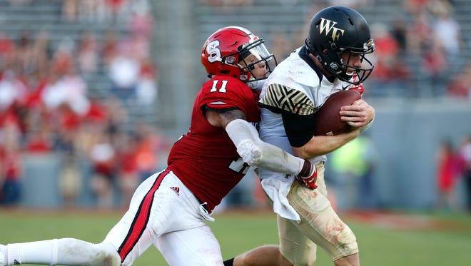 North Carolina State's Josh Jones attended Walled Lake Western.