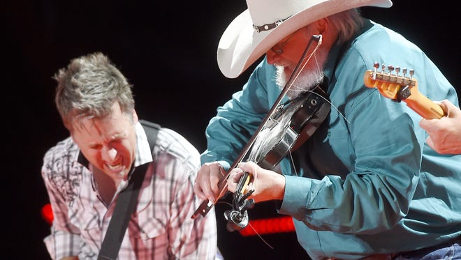 The Charlie Daniels Band will perform at Asheville's U.S. Cellular Center in April.