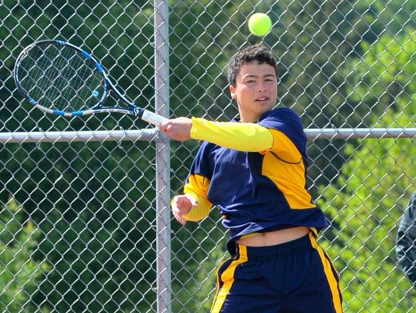 Wausau West's Sean Bailey did not lose a set in either the Wisconsin Valley Conference dual season or tournament. He finished the year with a 31-1 record.