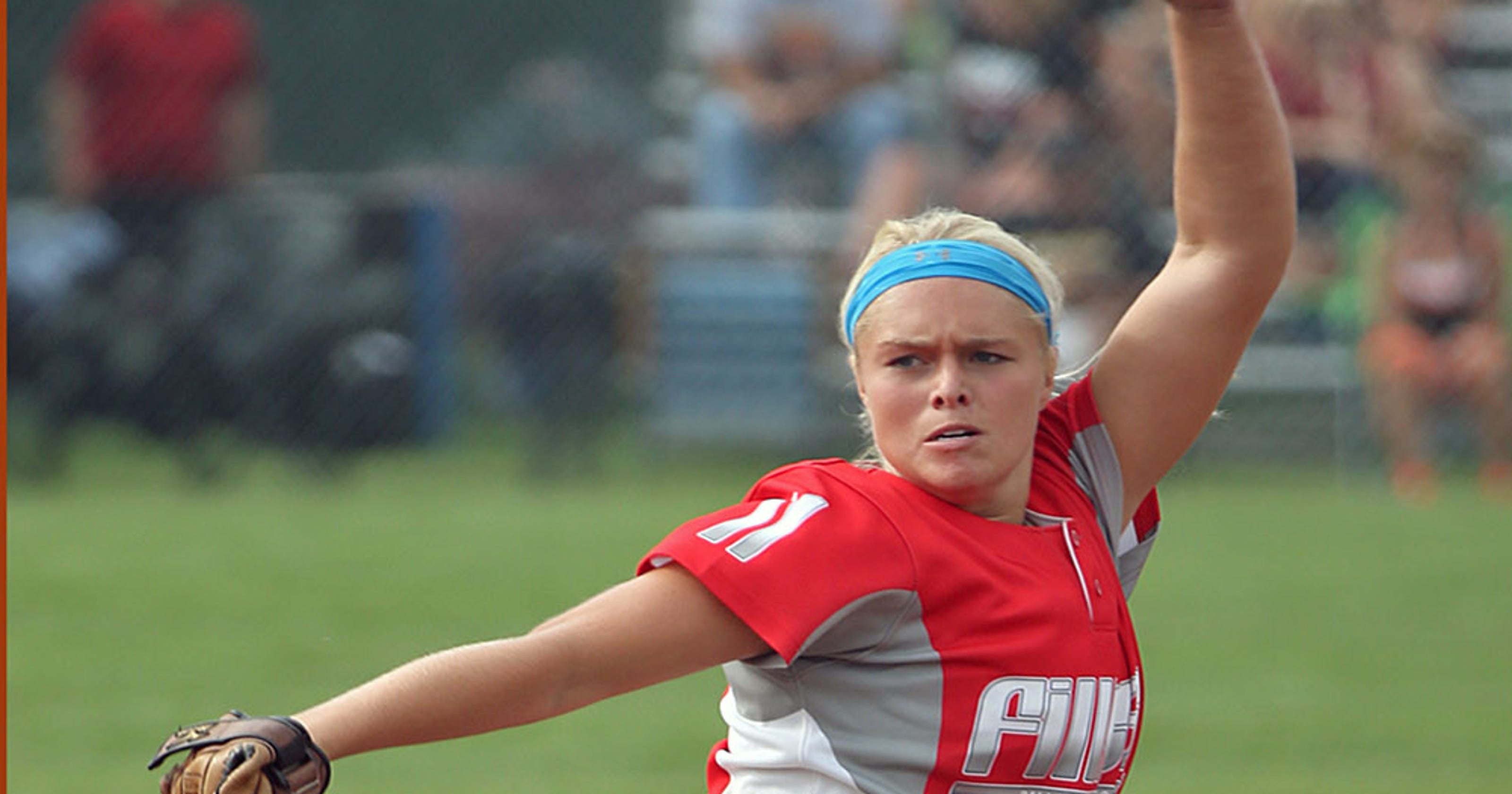 D C -Grimes' Paige Lowary tops all-state softball team