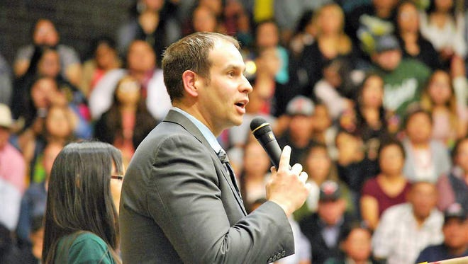 Eric Arpelar takes the reigns as Newcomb's director of athletics this upcoming school year.
