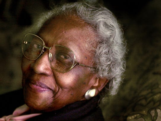 Johnnie Carr, a friend of Rosa Parks and civil rights
