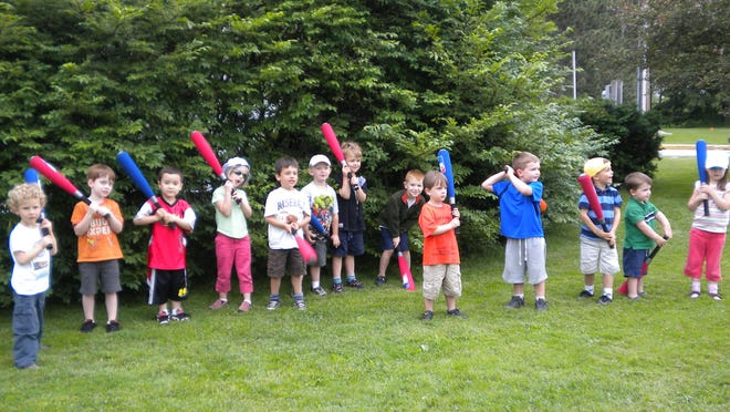 Children are up to bat with the Montpelier Recreation Department.