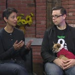 """Filmmakers Aron Gaudet & Gita Pullapilly (and a small dog) discuss their movie """"Beneath The Harvest Sky"""""""