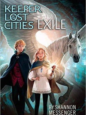 'Keeper Lost Cities EXILE' by Shannon Messenger