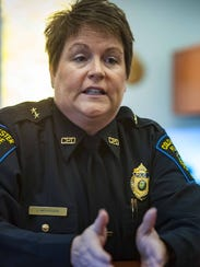 Colchester Police Chief Jennifer Morrison discusses
