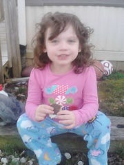 Lila Marie Pickering, 6, was killed along the Blue