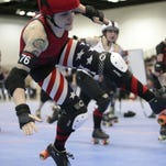 There will be a roller derby bout Friday night at Indiana Farmers Coliseum.