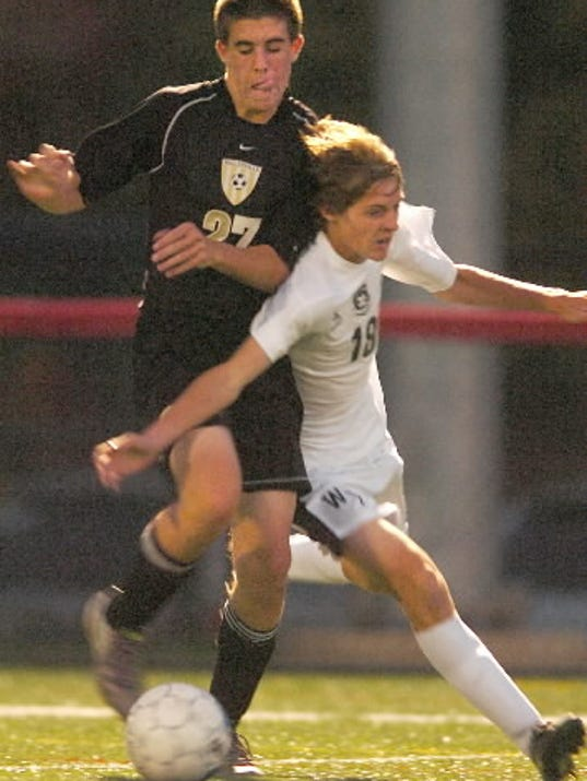 Biglerville returns numerous experienced players, including Koby Griest, left. (GAMETIMEPA.COM -- FILE)