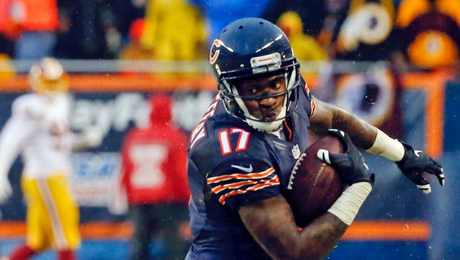 Chicago Bears wide receiver Alshon Jeffery. Age 27. 2016 stats: 12 starts, 52 catches, 821 yards, 2 TDs.