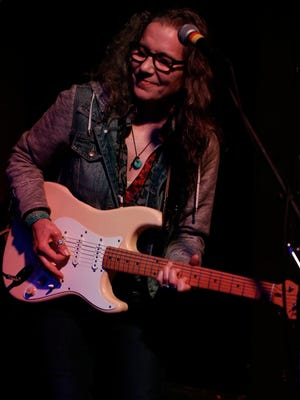 Blues-rocker Cathy Grier is in concert Jan. 5 and 6 in the Tambourine Lounge in Sturgeon Bay before heading off to take part in the International Blues Challenge.