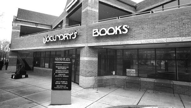 Jocundry's Books in East Lansing, September 1992.