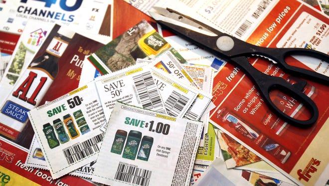 Saving with coupons