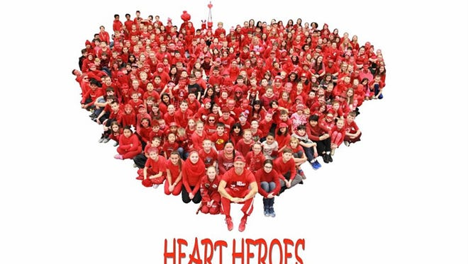 Manitowoc's Stangel Elementary School had another record-breaking year raising money during its annual Moving for Heart/Jump Rope for Heart event for the American Heart Association.