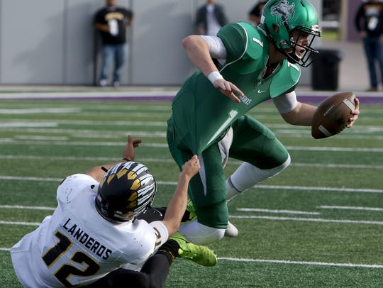 Iowa Park's Trent Green is coming off a strong sophomore season, but many area teams will be breaking in new quarterbacks this year.