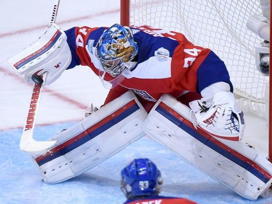 Hockey: World Cup of Hockey-Team Czech Republic vs Team Europe