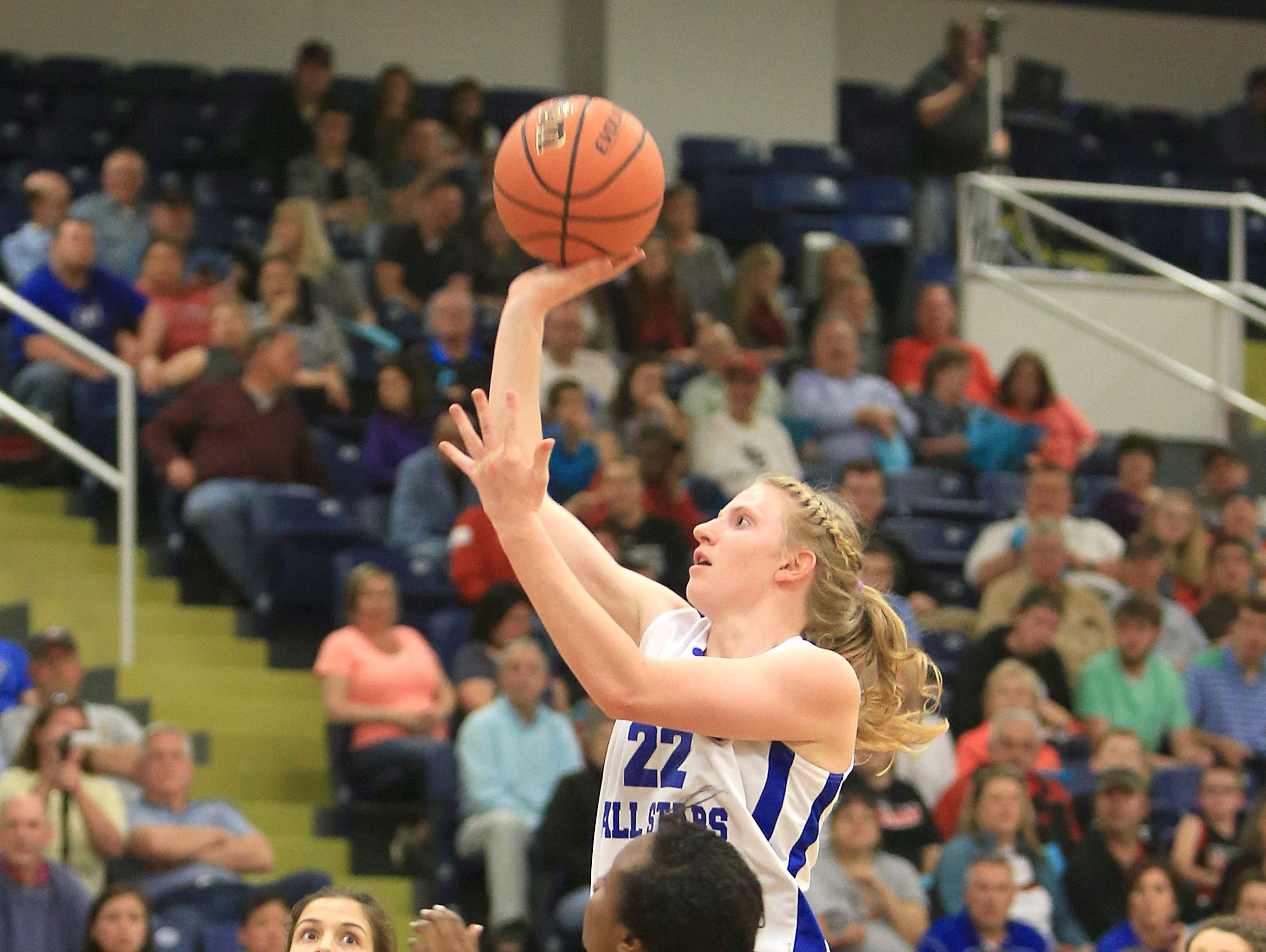 Recent Hayesville graduate Amanda Thompson will be part of Monday night's East-West All-Star basketball games in Greensboro.