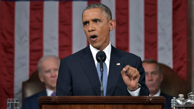 President Obama delivers his sixth State of the Union Address. (