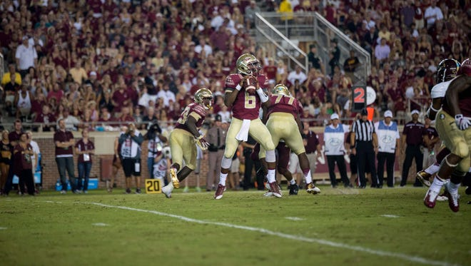 Everett Golson went 19-25 for 302 yards and 4 touchdowns in FSU's 59-16 win over Texas State.
