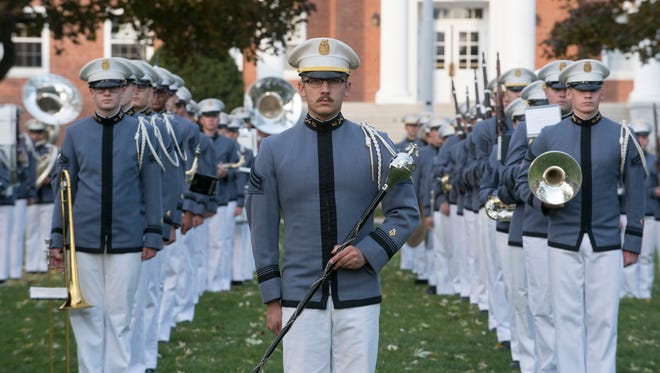 The Norwich University Regimental Band and Drill Team will march in the inaugural parade following the swearing-in Jan. 20, 2017, of Donald Trump as president.