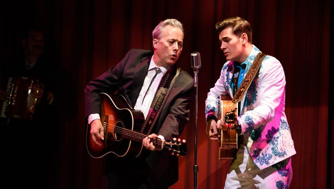 """Radney Foster and Zach Seabaugh star in the Alliance Theatre production of  """"Troubadour."""""""