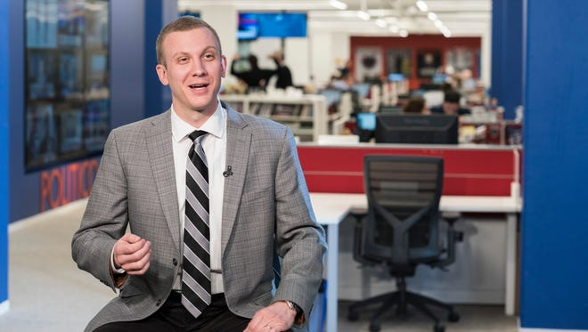 Tim Alberta grew up in Livingston County, graduating from Brighton High School in 2004 and from Michigan State University in 2008. Today, he's writing for Politico Magazine, where he's billed as one of the most-respected young political reporters in Washington.