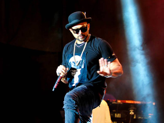 Jamaica reggae superstar Sean Paul plays Reggae Sumfest.