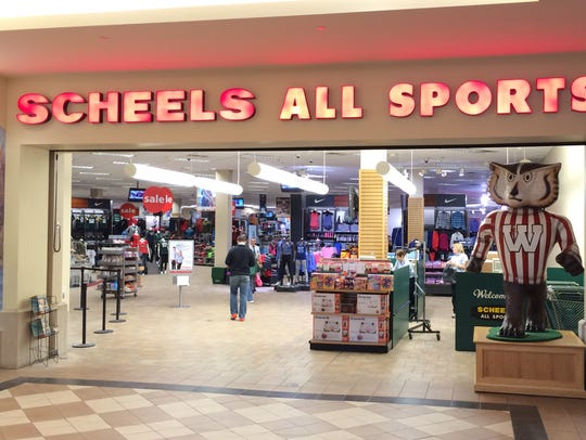 Scheels' fudge shop is being moved to the left of the
